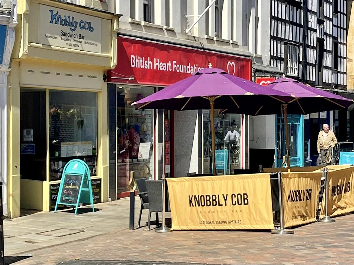 cafes in Gloucester